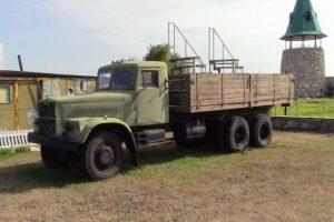 Устройство и технические характеристики бортового КрАЗ-257