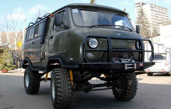 Ходовая часть УАЗ-3303