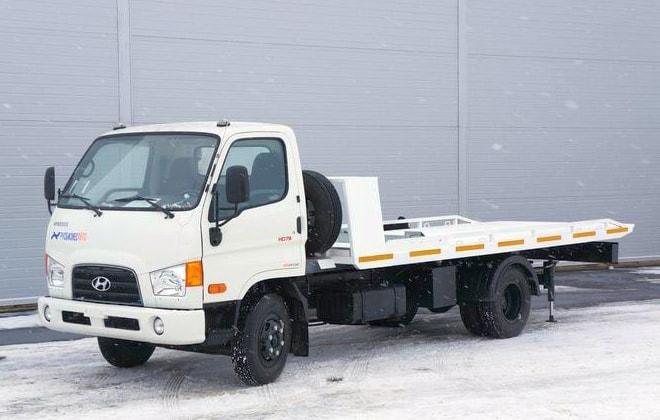 Hyundai HD-78 машина