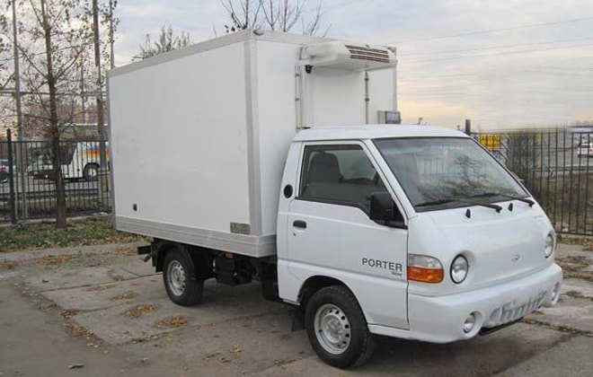 Hyundai Porter 1 Рефрижератор