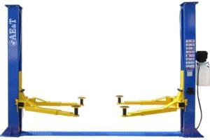 Разновидности и установка автомобильного двухстоечного подъемника