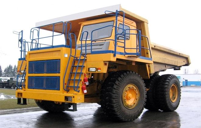 Конструкция самосвального грузовика