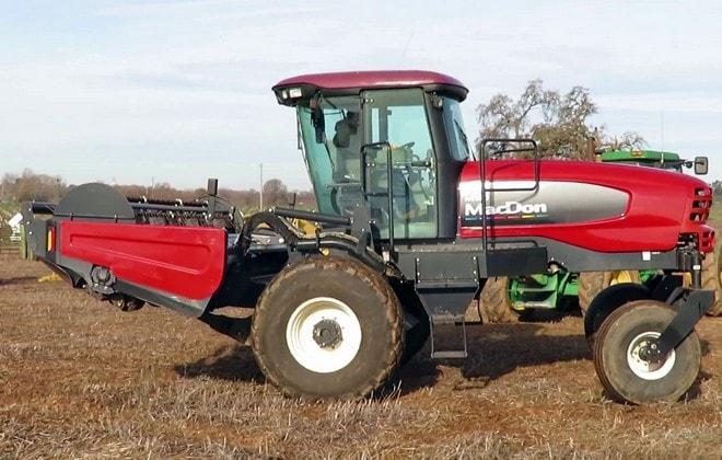 Косилка для сбора урожая зерновых