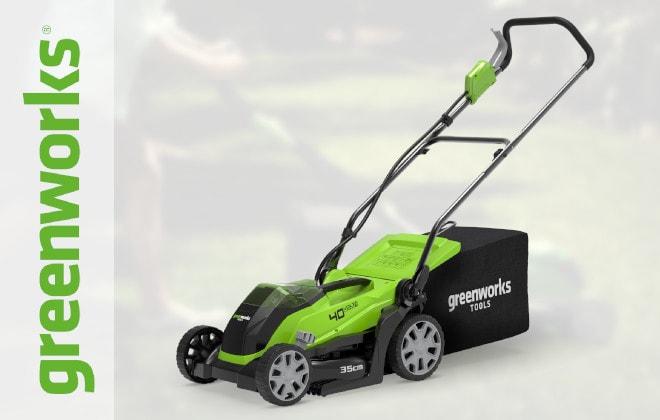 Косилки травы GreenWorks