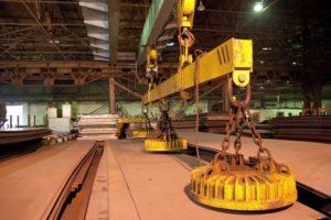 Устройство и области применения мостовых магнитных кранов
