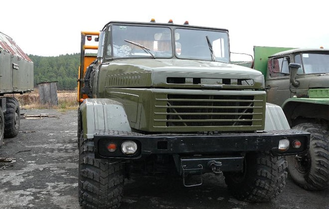 КрАЗ-260В военный