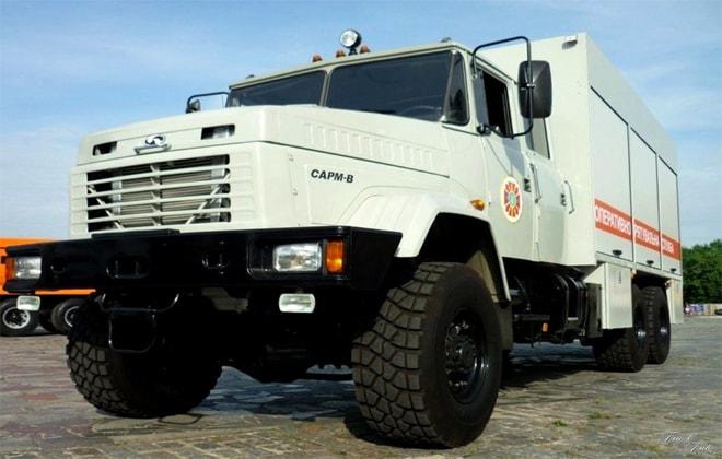 КРАЗ модели 63221