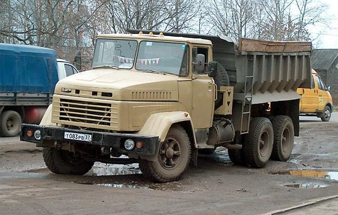 КрАЗ модели 6510