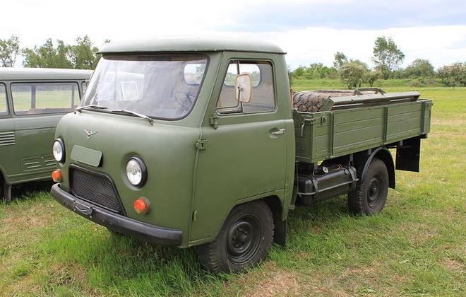 Легкий советский грузовик