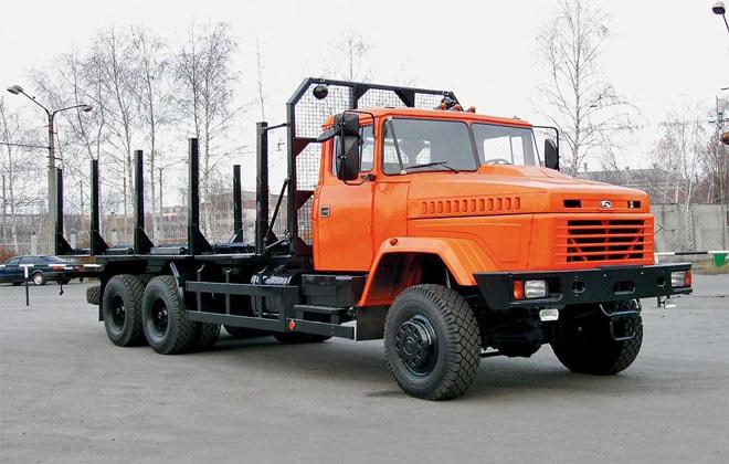 Лесовоз КрАЗ-64372