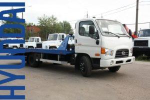 ТОП-2 модели эвакуаторов Хендай (Hyundai) со сдвижной платформой и их характеристики