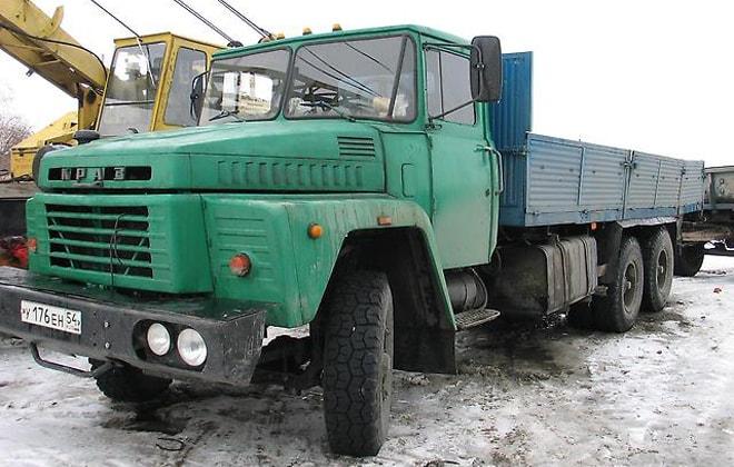 Машина КрАЗ