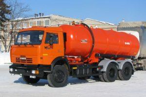 Принцип работы и устройство ассенизаторской машины на базе КамАЗ