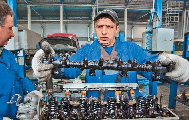 Мастерская по ремонту ГАЗ