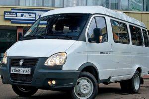 Технические характеристики микроавтобуса ГАЗель-32213