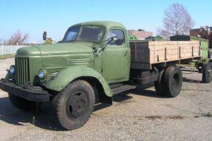 Советский грузовой автомобиль ЗИЛ-164 и популярные модификации на его базе