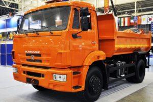 Технические характеристики двухосного грузового автомобиля КамАЗ-43255