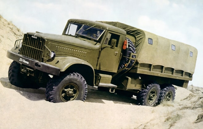 Модель КрАЗ-214