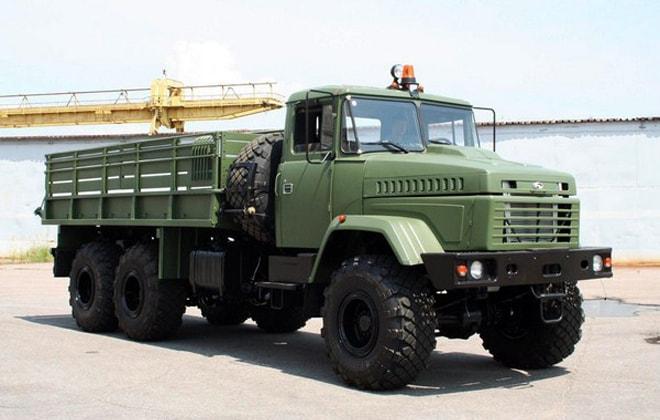 Модель КрАЗ-6322