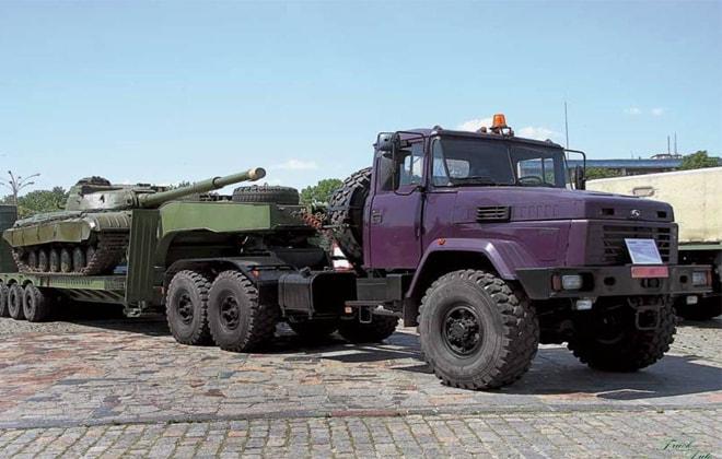 Модель КрАЗ-6446