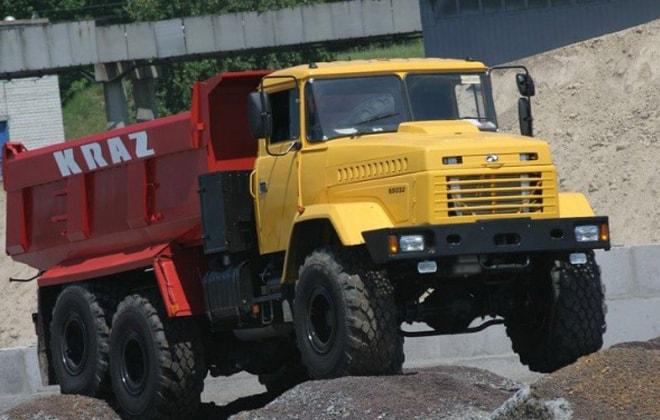 Модель КрАЗ-65032