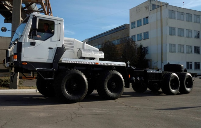 Модель КрАЗ-7634