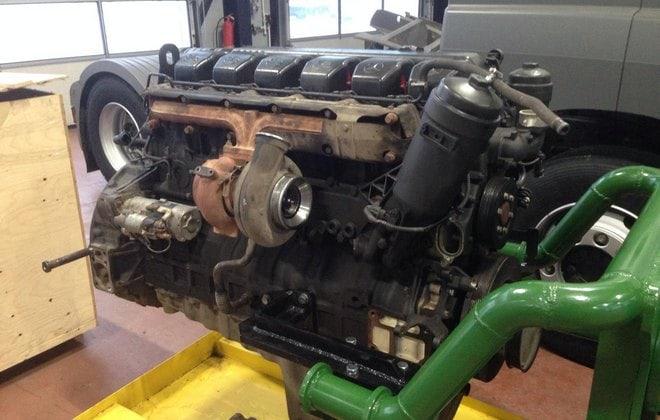 Мотор Mercedes Benz OM 457LA