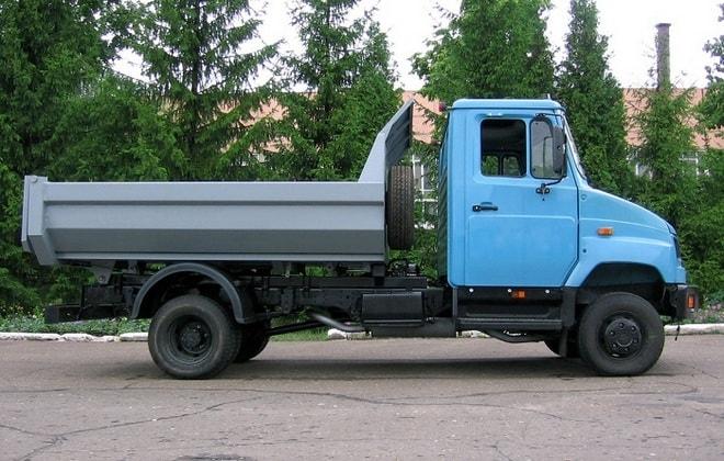 Новый грузовик 5301