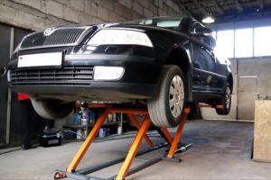 Как сделать самому и установить автомобильный подъемник для гаража