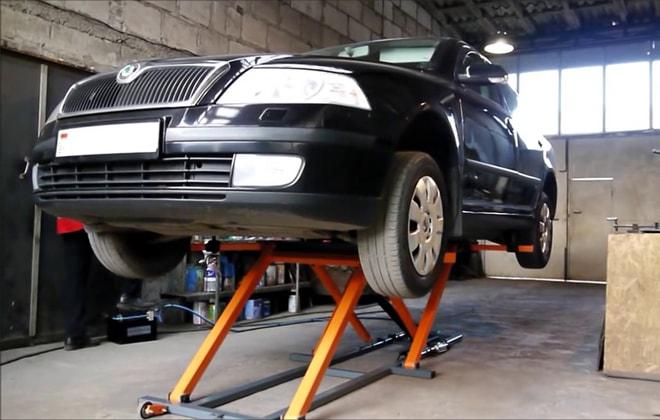 Оборудование для ремонта машин