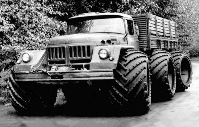 Опытный грузовик ЗИЛ