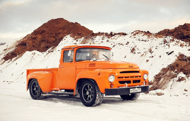 Пикап из советского грузовика