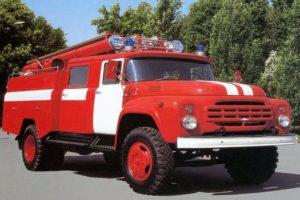 Конструкция и технические характеристики ТОП-2 отечественных пожарных автомобиля ЗИЛ