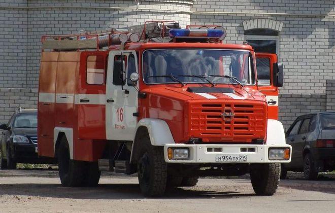 Пожарная машина на базе ЗИЛа