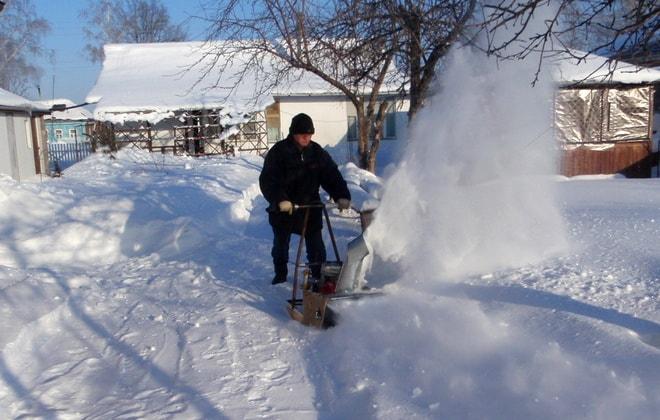 Самоделка для уборки снега