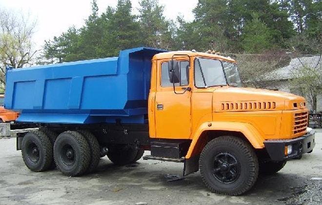 Самосвал КрАЗ-65055