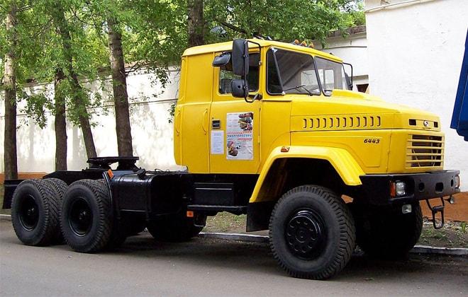 Седельный тягач модели 6443