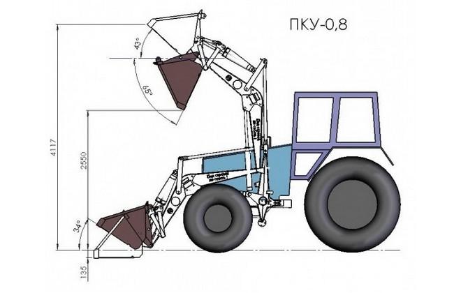 Схема ПКУ-0.8