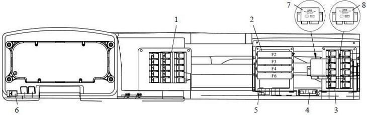 Схема реле КамАЗа