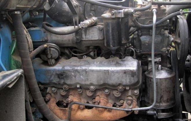 Силовой агрегат 645 модели