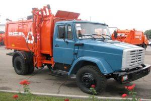Конструкция и технические характеристики мусоровозов построенных на базе ЗИЛ