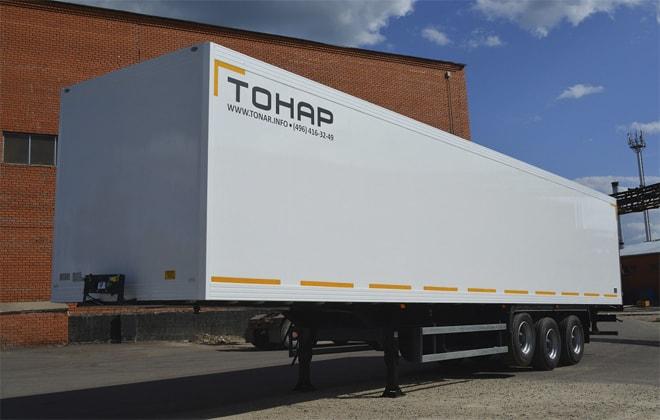 Тонар-9746Т - полуприцеп-рефрижератор