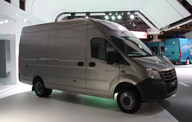 Цельнометаллический фургон ГАЗель