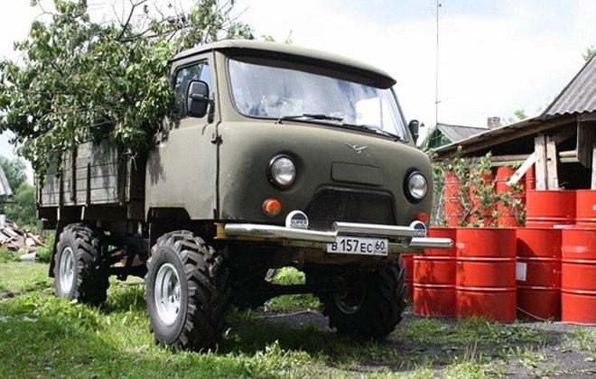 Тюниниг грузовика УАЗ 3303
