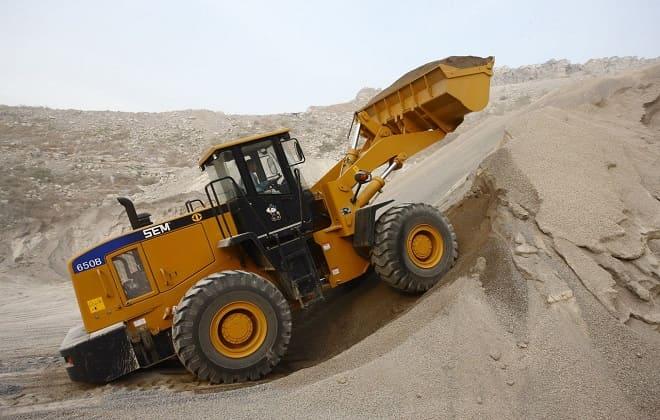 Уборка песка