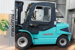 Технические характеристики электрических и бензиновых погрузчиков Максимал (Maximal)