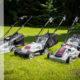 Технические характеристики электрических и бензиновых газонокосилок Интерскол