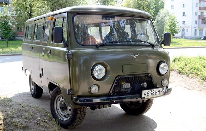 Внешний вид УАЗ 2206