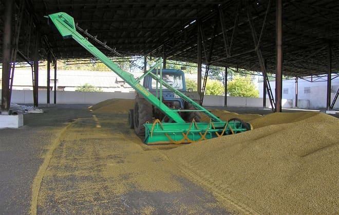 Зерномет для погрузки зерна