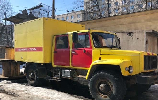 Аварийный ГАЗ-3897